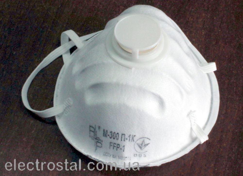 Респиратор от паров RP М-300 П-1К Класс защиты FFP-1D