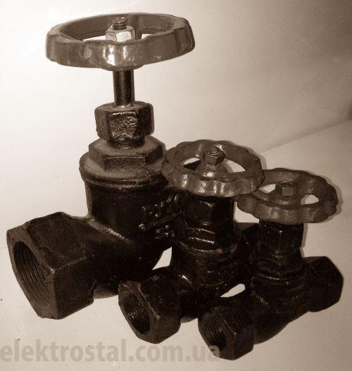 Вентиль чугунный муфтовый 15КЧ18 (33)п