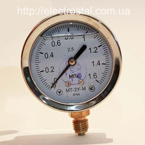 Манометр виброустойчивый МТ-2У(гл) купить в Житомире (0412)418421