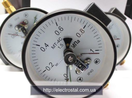 Манометр электроконтактный Житомир (0412)418421