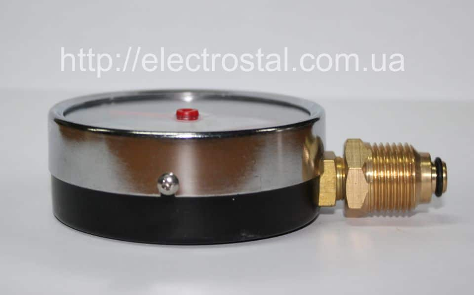 Термоманометр МТ–80–ТМ радиальный вид сбоку